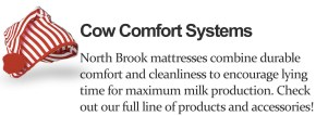 North Brook Cow Comfort Systems and Cow Beds